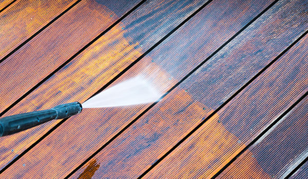Long Island Residential Deck and Patio Pressure Washing